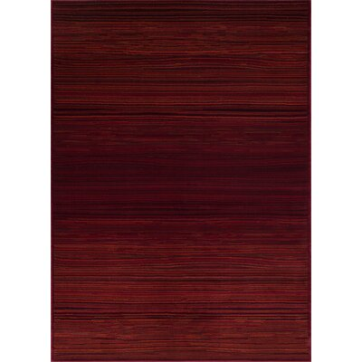 Ophelia Red Rust Area Rug