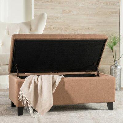 Dedham Fabric Storage Ottoman