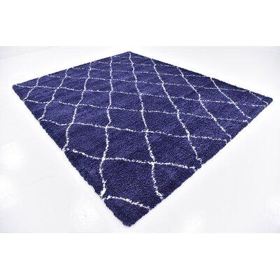 Cynthiana  Navy Blue Area Rug Rug Size: 8  x 10