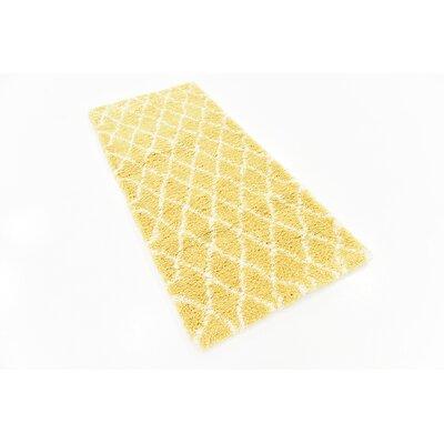 Cynthiana Yellow Area Rug Rug Size: 2 7 x 6