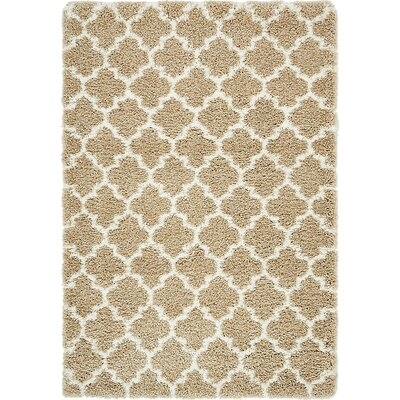 Cynthiana Taupe Area Rug Rug Size: Rectangle 4 x 6