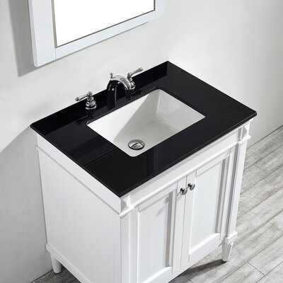 Millfield 30 Single Vanity Set with Mirror