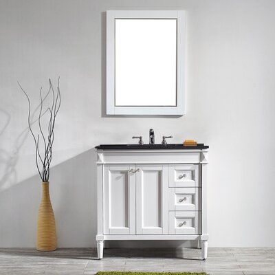 Millfield 36 Single Vanity Set with Mirror