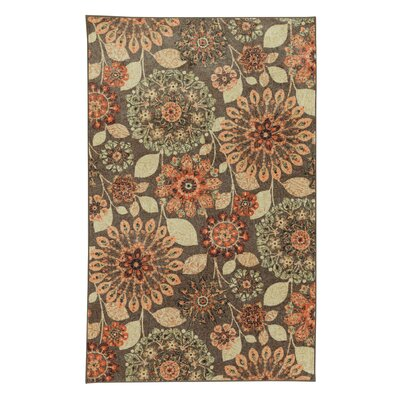 Fedna Dream Spice Tan/Orange Area Rug Rug Size: Rectangle 5 x 9