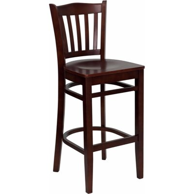 Dryden 29.25 Bar Stool Finish: Mahogany