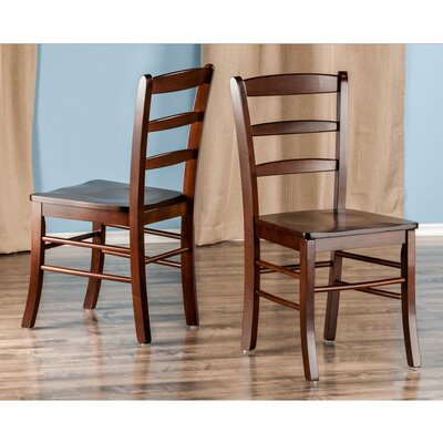 Anthem Solid Wood Dining Chair Finish: Antique Walnut