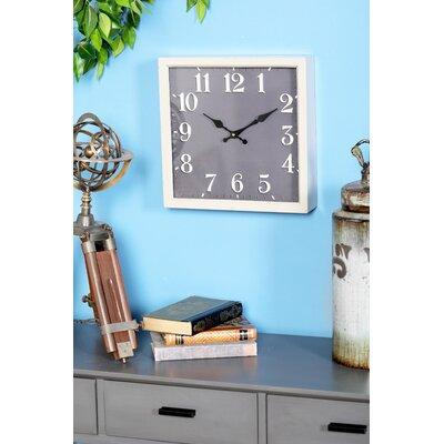 Chip Modern Square Wall Clock