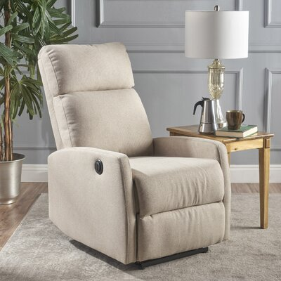 Deedee Power Recliner Color: Wheat