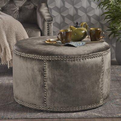 Loree Cocktail Ottoman Upholstery: Gray
