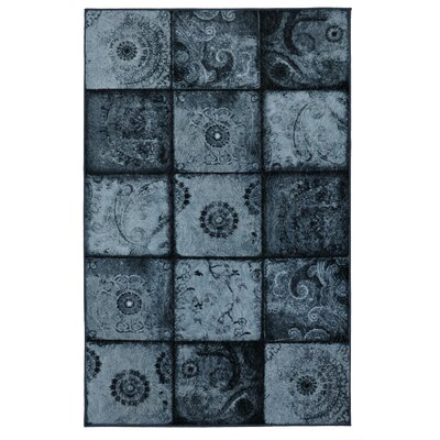 Vester Artifact Blue Area Rug Rug Size: Rectangle 5 x 8