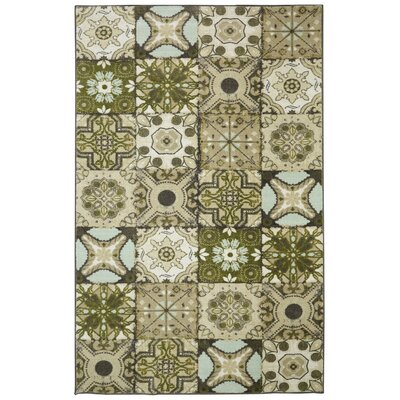 Rockport Tan Area Rug Rug Size: Rectangle 5 x 8