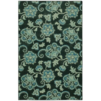 Supriya Royal Blue Area Rug Rug Size: Rectangle 8 x 10