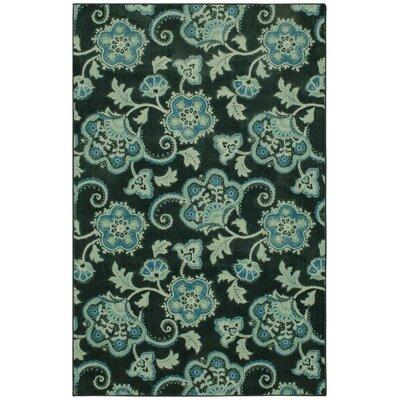 Supriya Royal Blue Area Rug Rug Size: Rectangle 5 x 8