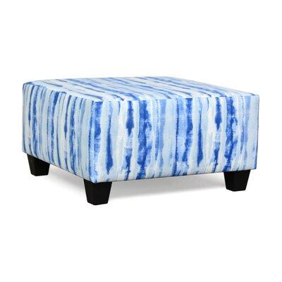 Burwood Ottoman Upholstery: Kanoko Indigo