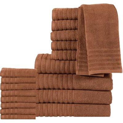 18 Piece Towel Set Color: Mocha