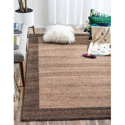 Christi Brown Area Rug Rug Size: Rectangle 5 x 8