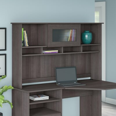 Hillsdale 36 H x 60 W Desk Hutch Finish: Heather Gray