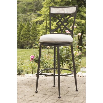Hubbard 26 Swivel Indoor/Outdoor Patio Bar Stool