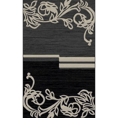 Doreeann Contemporary Gray Area Rug