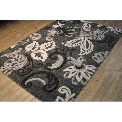 Temaraia Gray Indoor Area Rug Rug Size: Rectangle 5 x 8