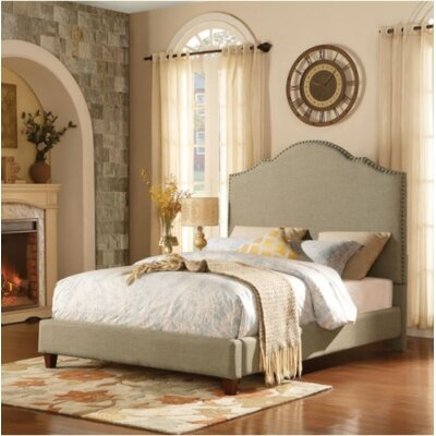Miles Upholstered Platform Bed Size: Queen