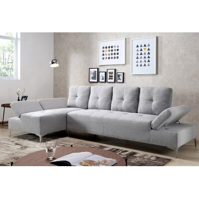 Colon Sectional Upholstery: Gray