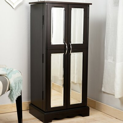 Anso Jewelry Armoire with Mirror