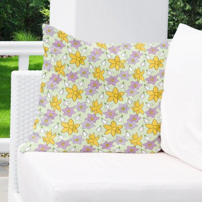 Danesfield Indoor/Outdoor Throw Pillow Size: 18 H x 18 W x 4 D