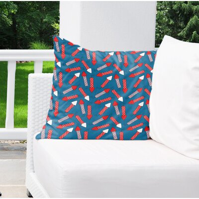 Danville Indoor/Outdoor Throw Pillow Size: 18 H x 18 W x 4 D