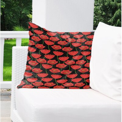 Daponte Indoor/Outdoor Throw Pillow Size: 18 H x 18 W x 4 D