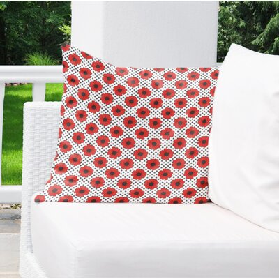 Daponte Indoor/Outdoor Throw Pillow Size: 26 H x 26 W x 4 D