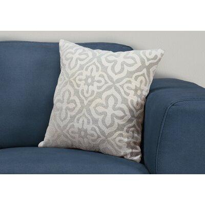 Silpa Throw Pillow Color: Light Gray