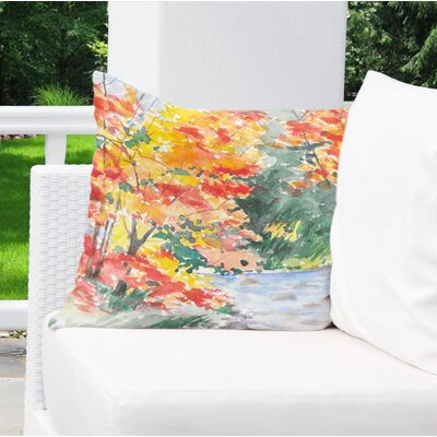 Paxtonville Outdoor Throw Pillow Size: 18 H x 18 W x 6 D