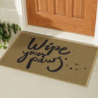 Stonehedge Rectangular Wipe Your Paw Doormat