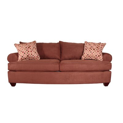 Charo Queen Sleeper Sofa Upholstery: Java