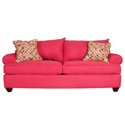 Charo Sofa Upholstery: Blaze Red