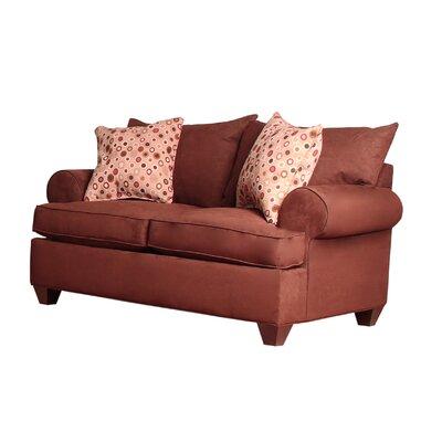 Charo Loveseat Upholstery: Java
