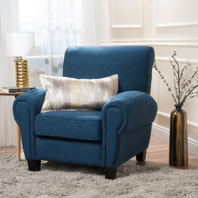 Whittemore Armchair Upholstery: Dark Blue