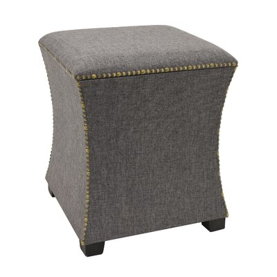 Dao Storage Ottoman Color: Brown