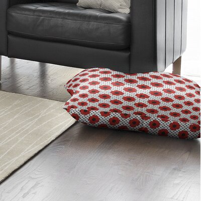 Daponte Indoor/Outdoor Floor Pillow Size: 26 H x 26 W x 8 D