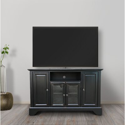 Kimiko 48 TV Stand Color: Black