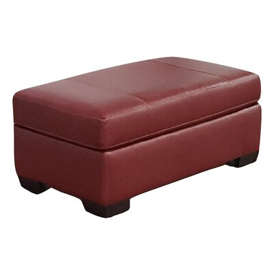 Jebastin Cocktail Ottoman Upholstery: Red