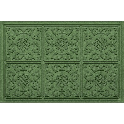 Amald Let Dog In/Out Doormat Color: Light Green