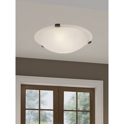 Everett Flush Mount Size: 4.75 H x 16 W x 16 D