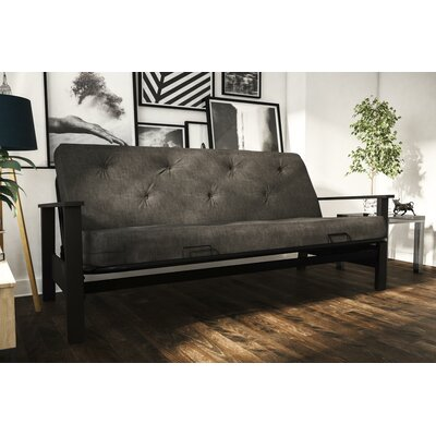 Marlborough Futon and Mattress Upholstery: Gray