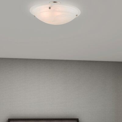 Everett 4-Light Semi Flush Mount Finish: Brushed Nickel