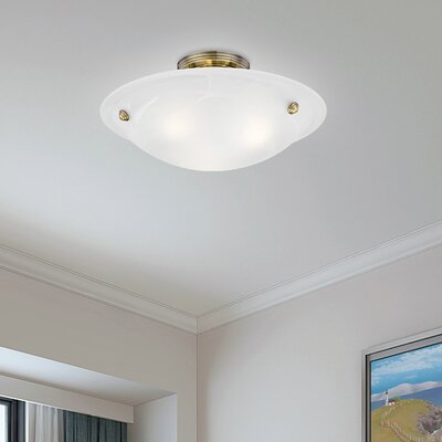 Everett 3-Light Semi Flush Mount
