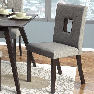Burgess Parsons Dining Chair Color: Grey Sand