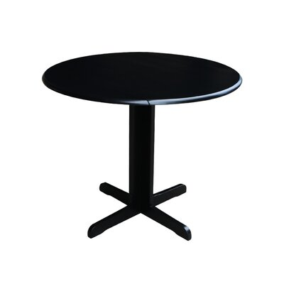 Lien Extendable Dining Table Finish: Black