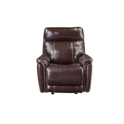 Monty Leather Reclining Sofa